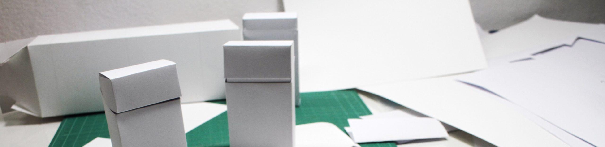 Spectrum Packaging 3D Paper Design Concept