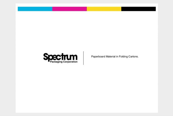 Spectrum Packaging Paperboard Material Found in Folding Cartons