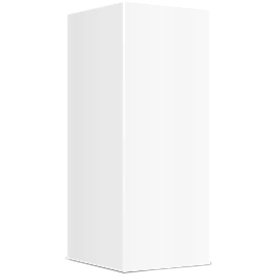 Spectrum Packaging 3D White Packaging Sample Thumbnail