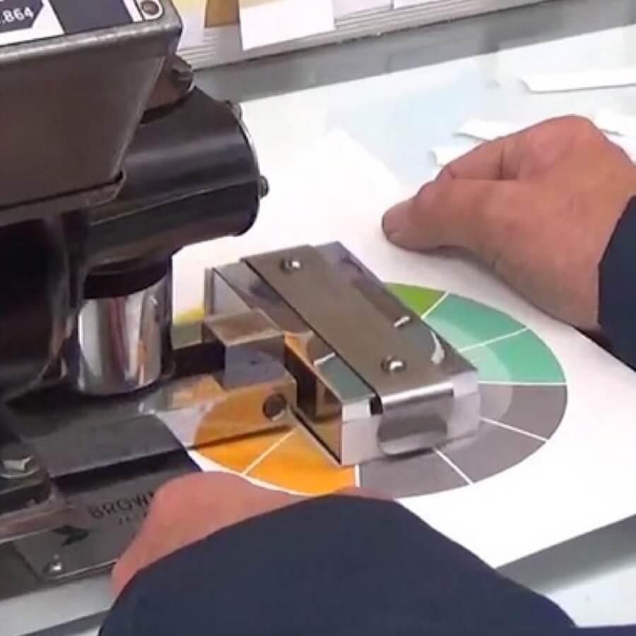Spectrum Packaging Man Testing Packaging Surface Thumbnail