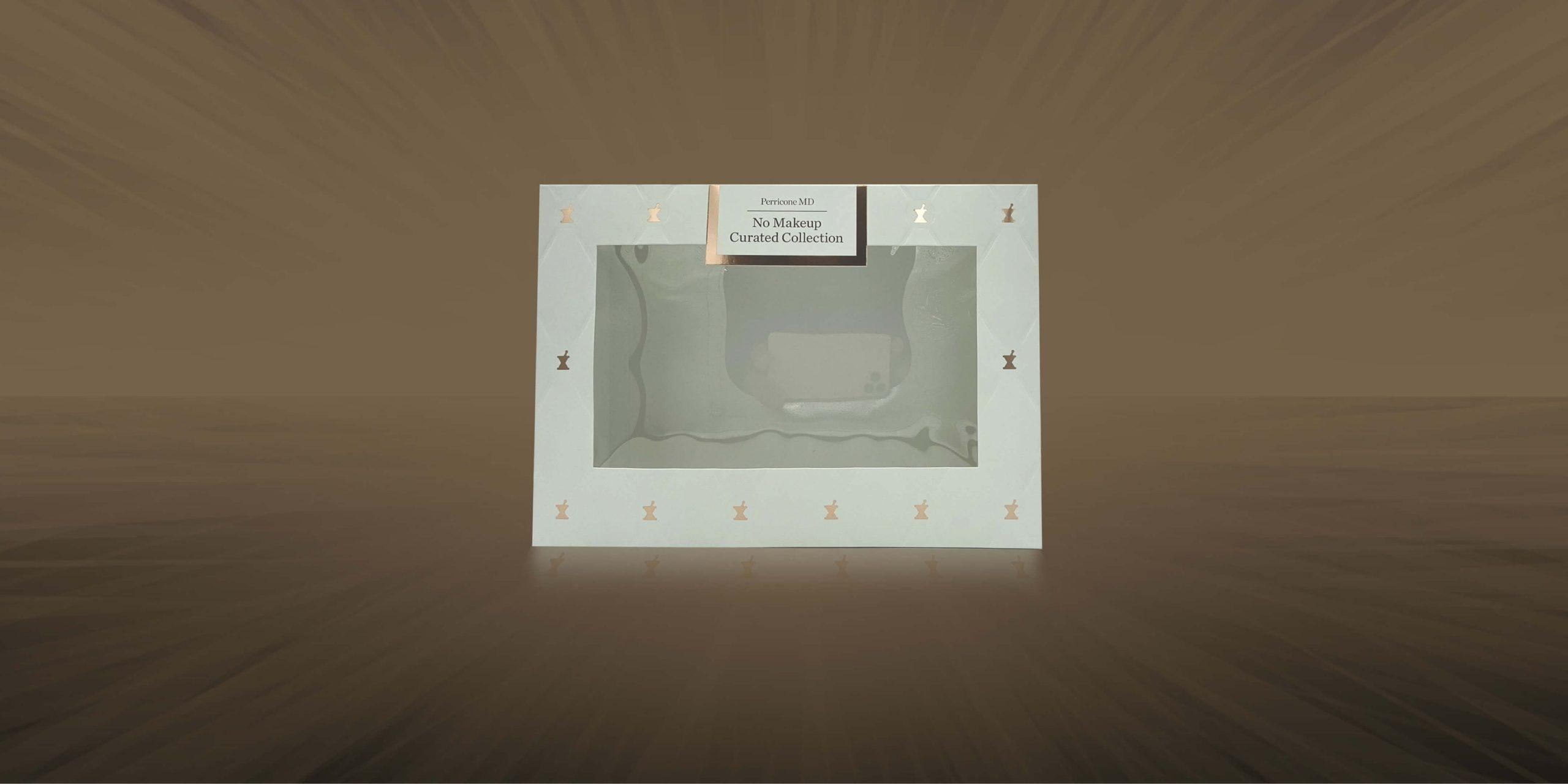 Spectrum Packaging Perricone 3D Packaging on Brown Background